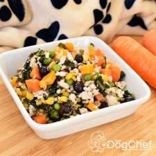 Turkey Mince Dog Food Recipe